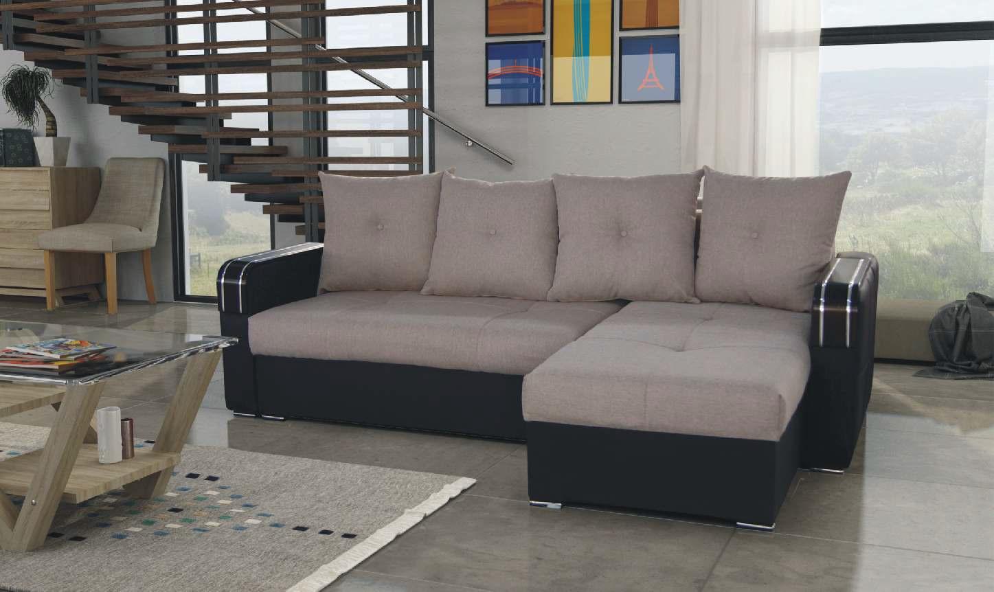 Vegas beige sectional sofa by skyler designs for Sectional sofa las vegas