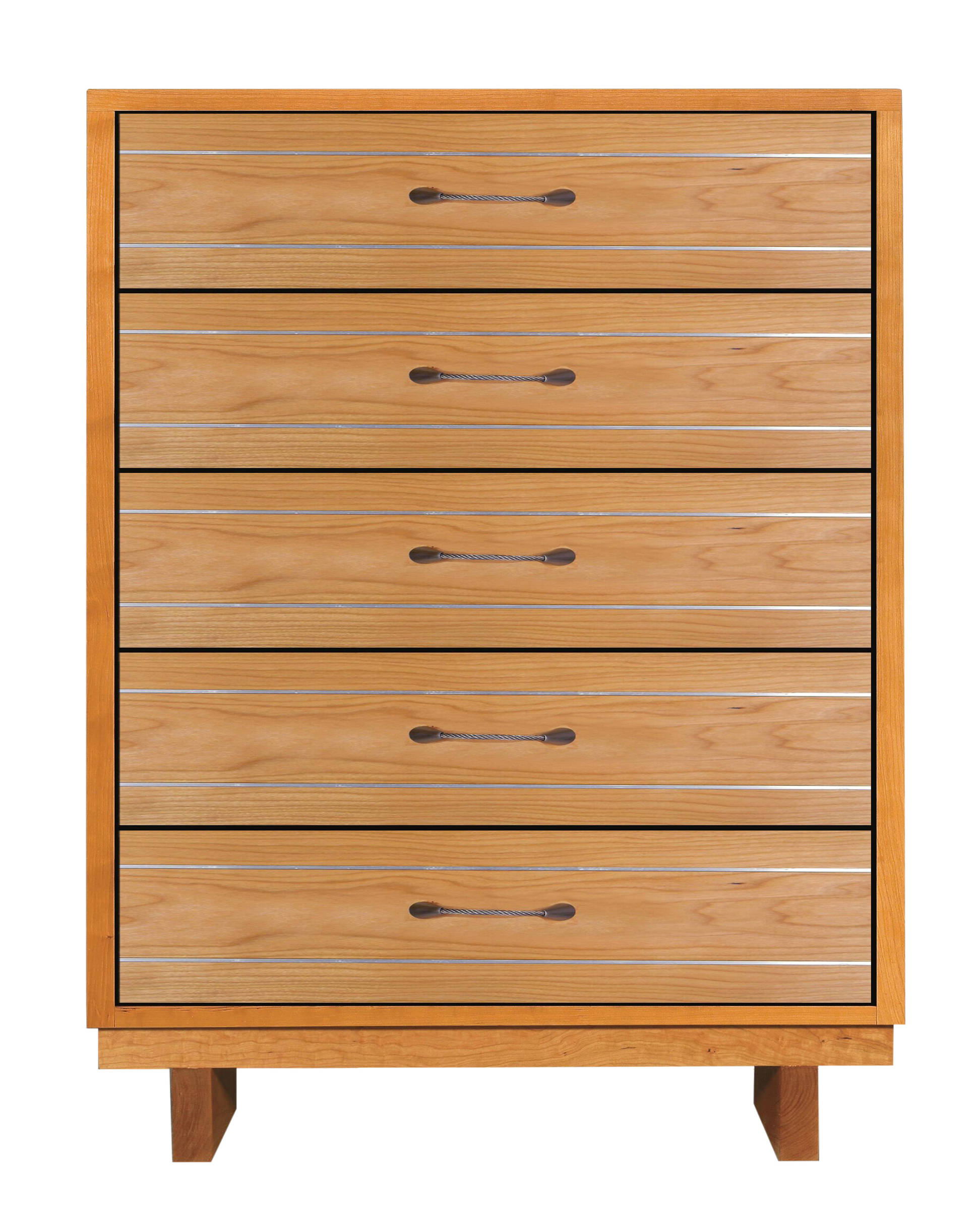 Skyline Wood 5 Drawer Wide Dresser By Vermont Handcrafted Furniture