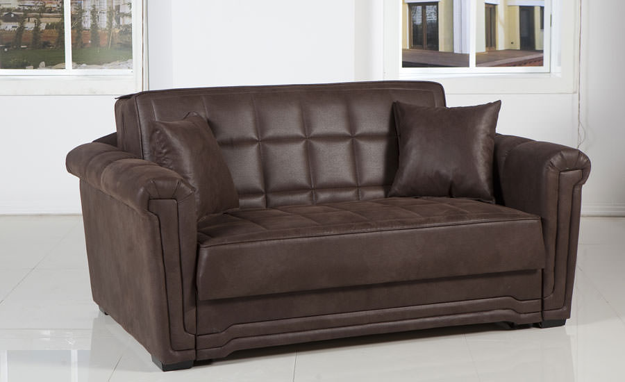 Victoria Loveseat In Chocolate By Istikbal Furniture