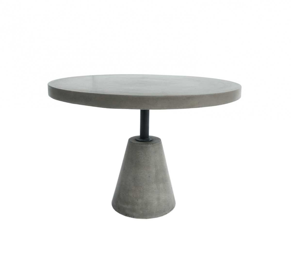 Picture of: Modrest Lenado Modern Grey Concrete End Table By Vig Furniture