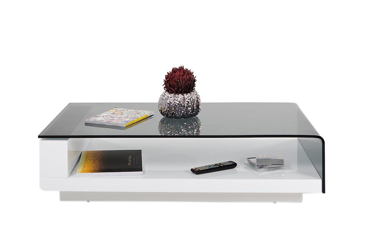 Modrest Tide Modern Glass Coffee Table By Vig Furniture [ 808 x 1200 Pixel ]
