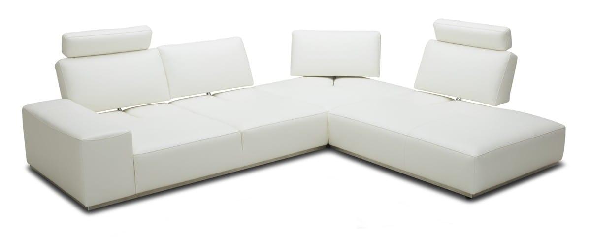 Divani Casa Martha Modern White Leather, Vig Furniture Reviews