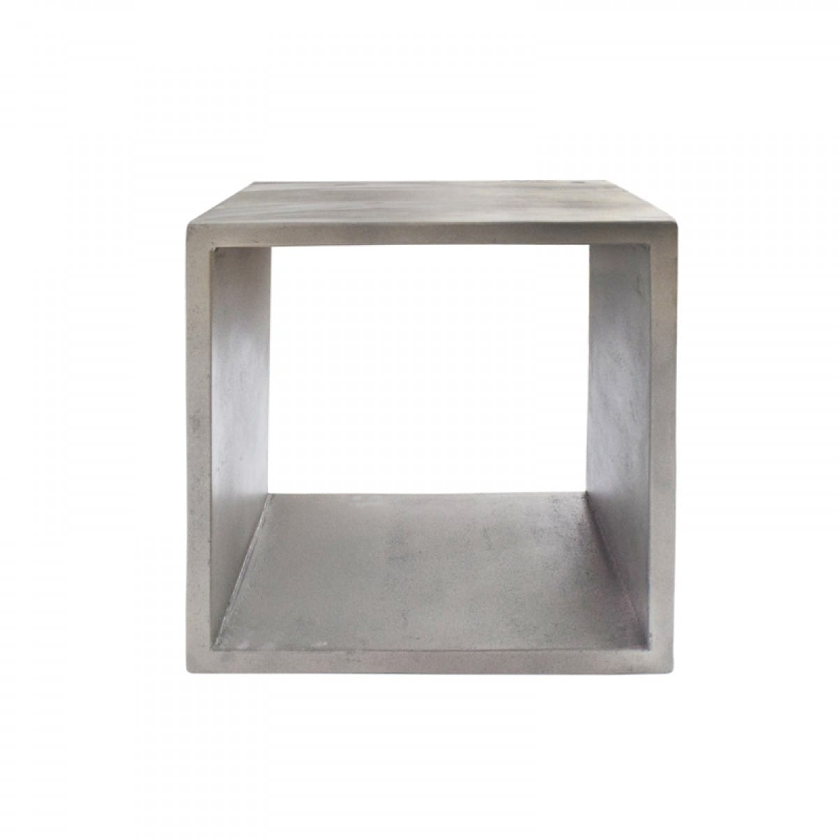 Picture of: Modrest Diaz Modern Grey Concrete End Table By Vig Furniture