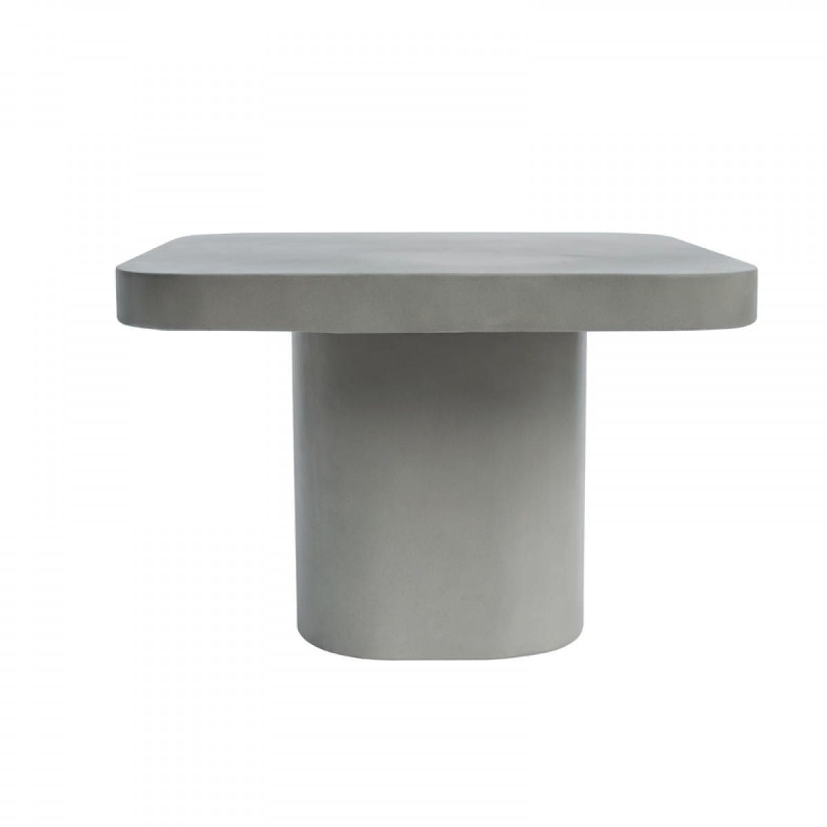 Picture of: Modrest Flores Modern Grey Concrete End Table By Vig Furniture