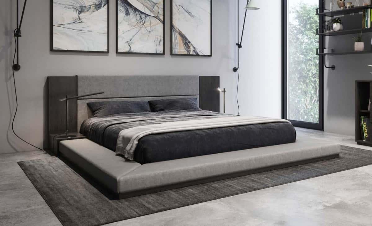 Nova Domus Jagger Modern Gray Bedroom
