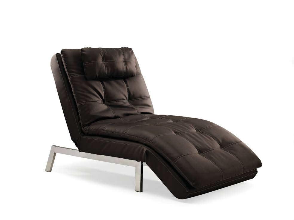 Valencia Chaise Java By Serta Lifestyle