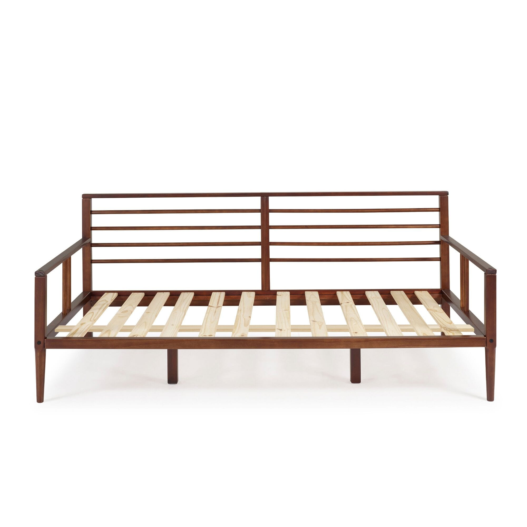 Mid-Century Modern Solid Wood Spindle Daybed - Walnut by ...