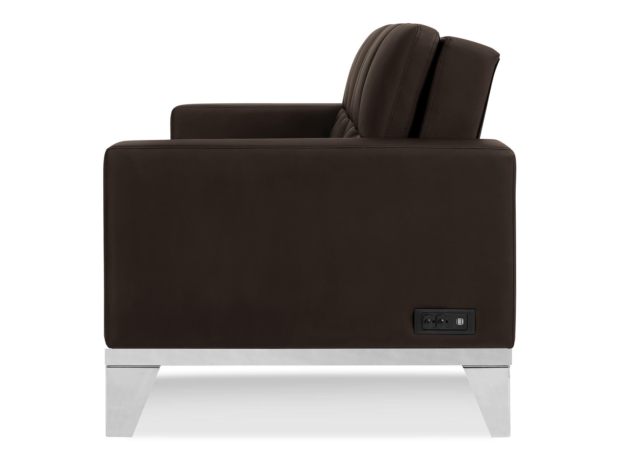 Westridge Convertible Sofa Java by Serta Lifestyle