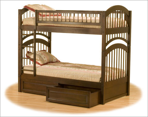 Windsor Wood Bunk Bed By Atlantic Furniture