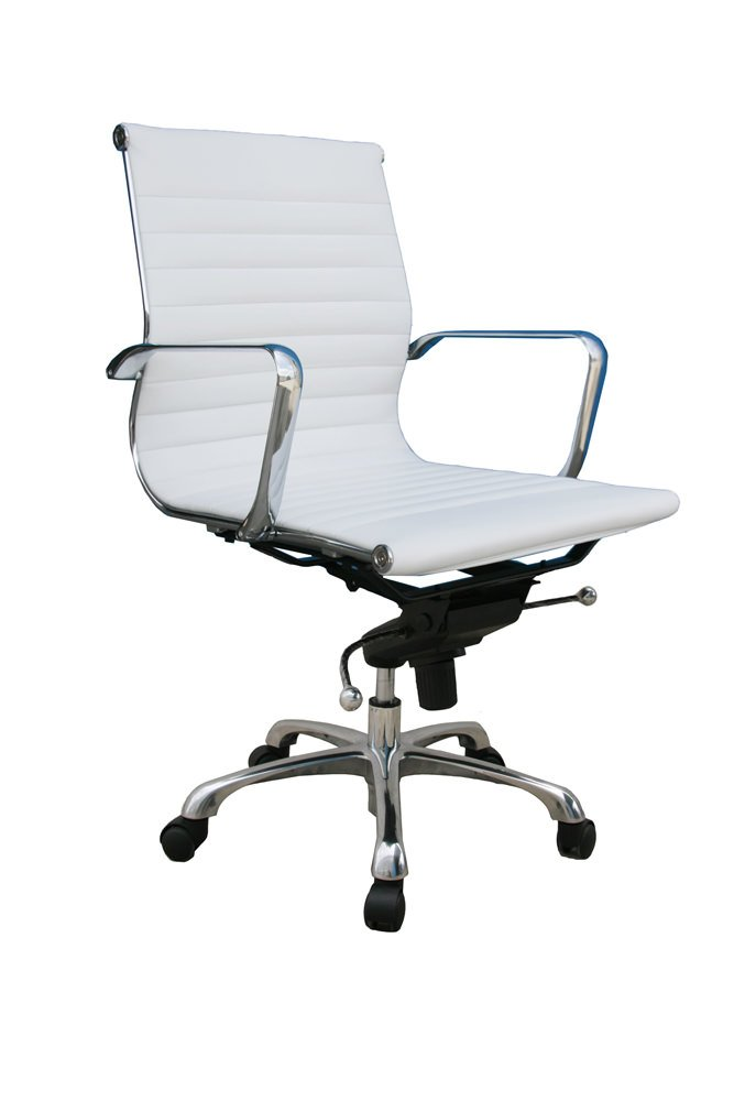Pleasing Comfy Low Back Office Chair White By Jm Alphanode Cool Chair Designs And Ideas Alphanodeonline