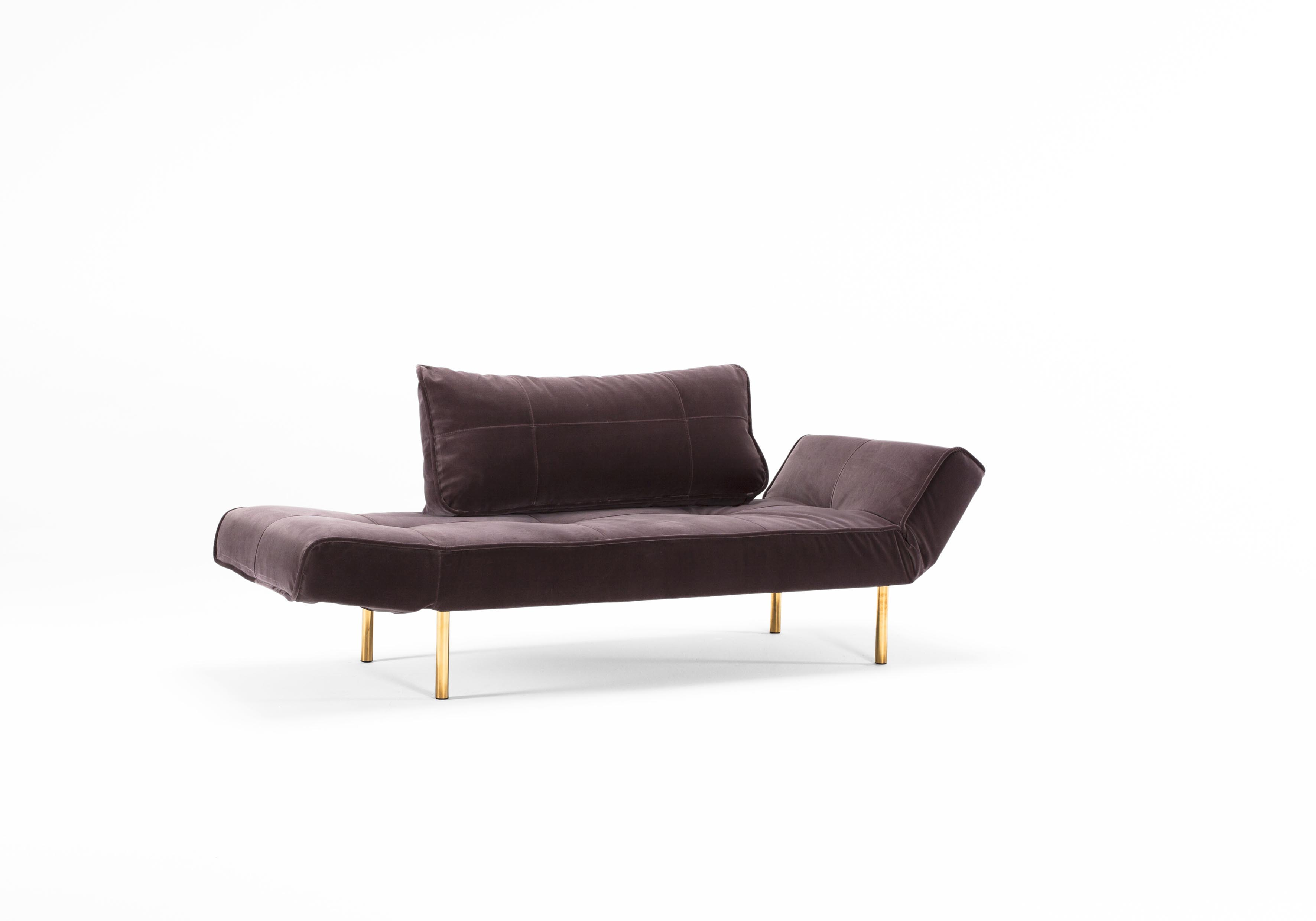 Zeal Deluxe Daybed Vintage Velvet Mauve by Innovation