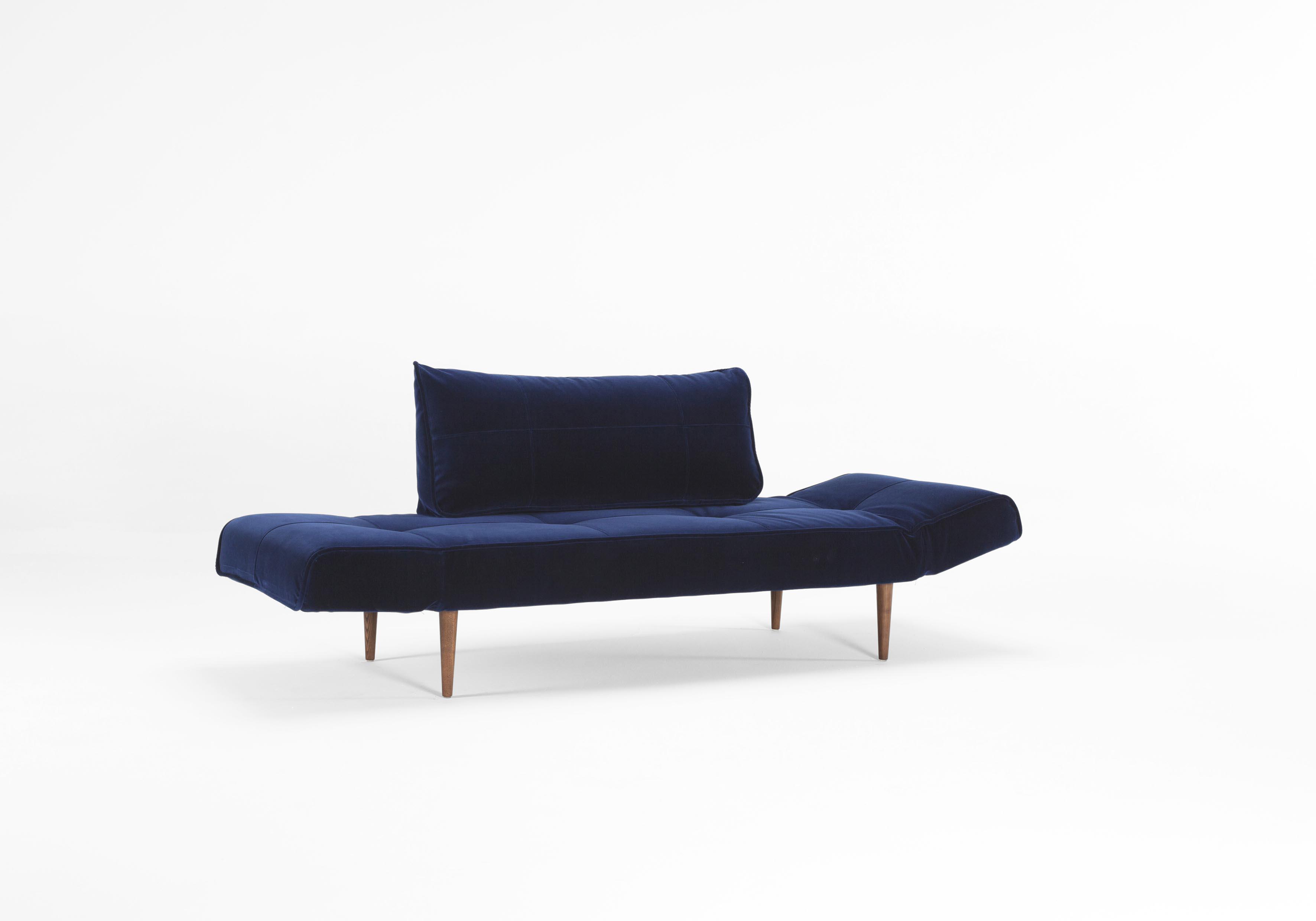 Zeal Deluxe Daybed Vintage Velvet Blue by Innovation