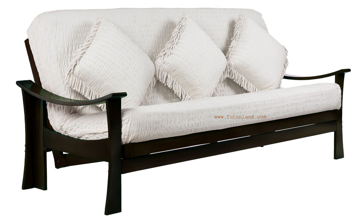 Deco Queen Size Java Futon Frame By