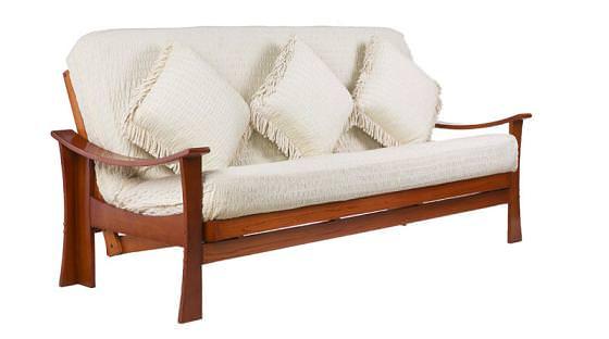 Full Size Teak Futon Set By J M Furniture