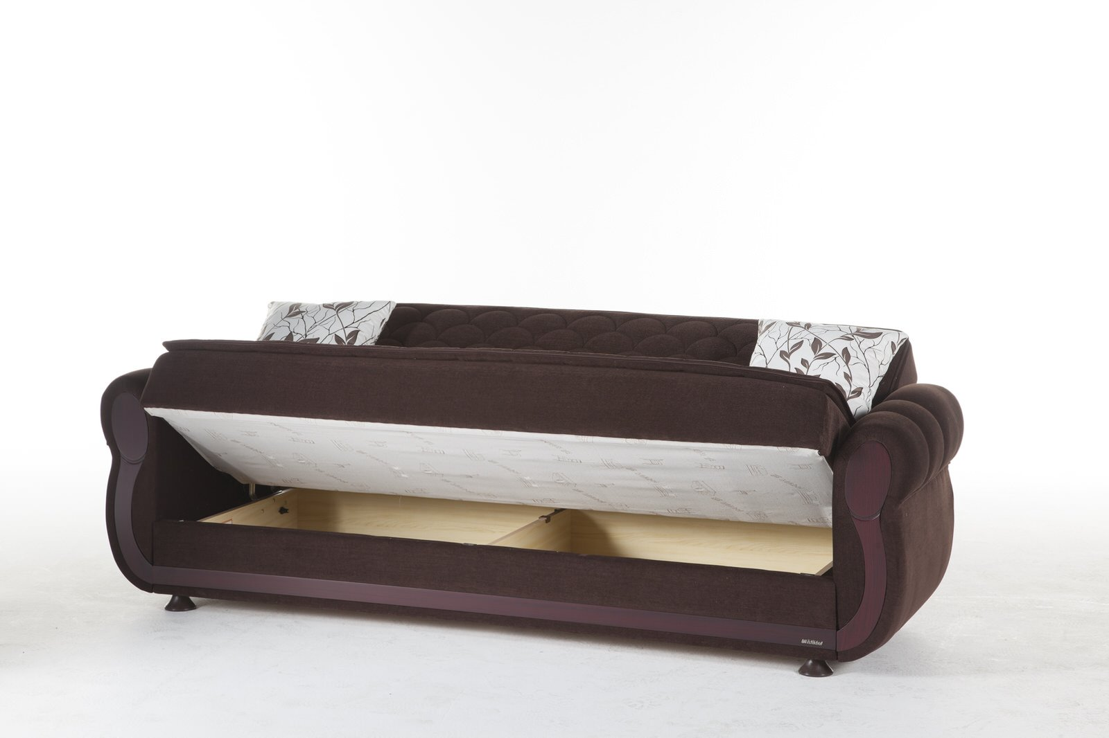 argos colins brown convertible sofa bed by sunset  rh   futonland