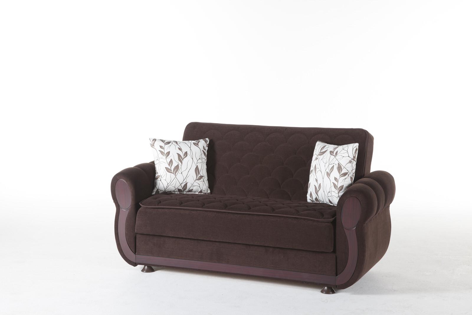 - Argos Colins Brown Loveseat By Istikbal Furniture