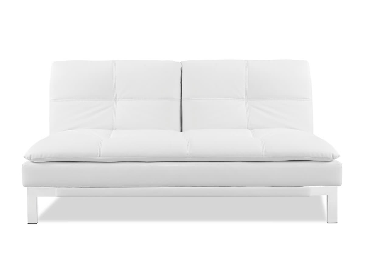 Open Box Brenem Convertible Sofa White By Serta Lifestyle