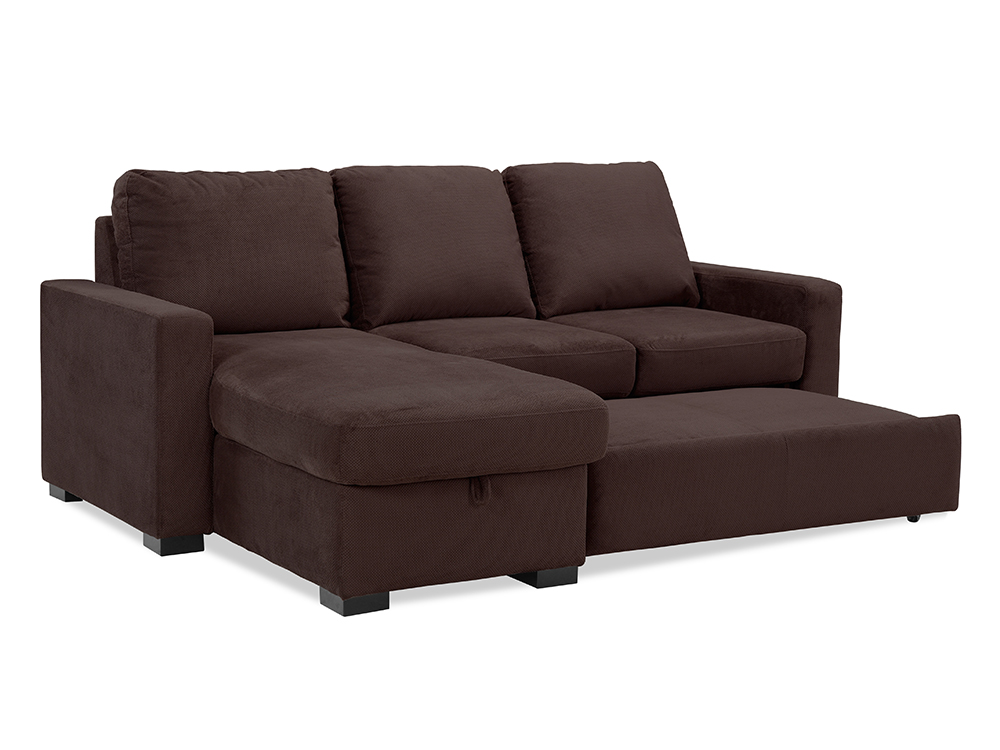 Chester convertible sofa java by lifestyle solutions for Divan convertible