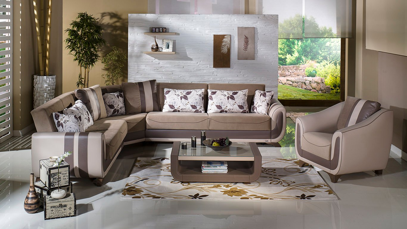 Colombia Sectional Sofa by Istikbal Furniture