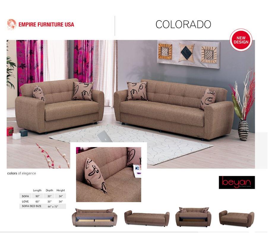 Colorado Sofa Bed By Empire Furniture Usa