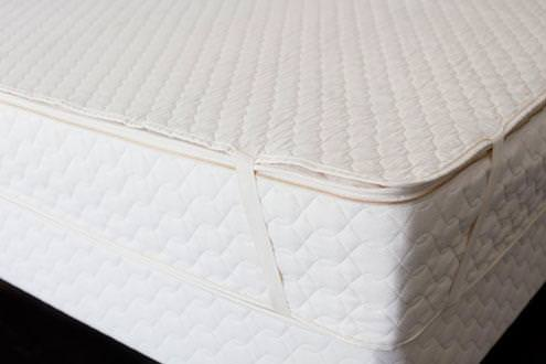 Organic Cotton Mattress Pad by Savvy Rest