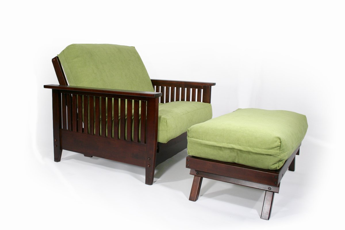 denali dark cherry full wall hugger futon frame by strata furniture  rh   futonland