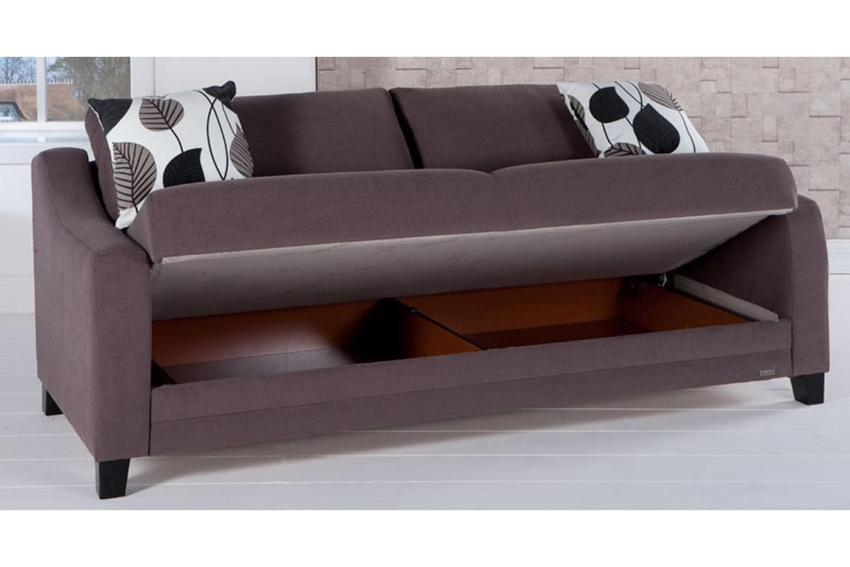 Denver cozy brown convertible sofa bed by sunset for Sofa convertible 2 places