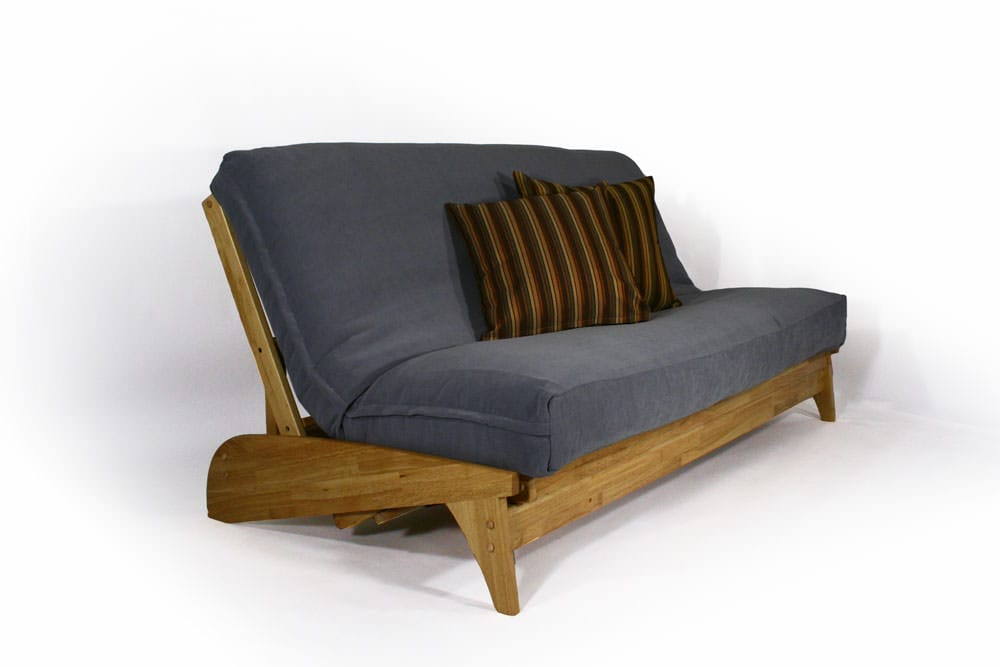 Dillon Natural Queen Wall Hugger Futon Set by Strata Furniture
