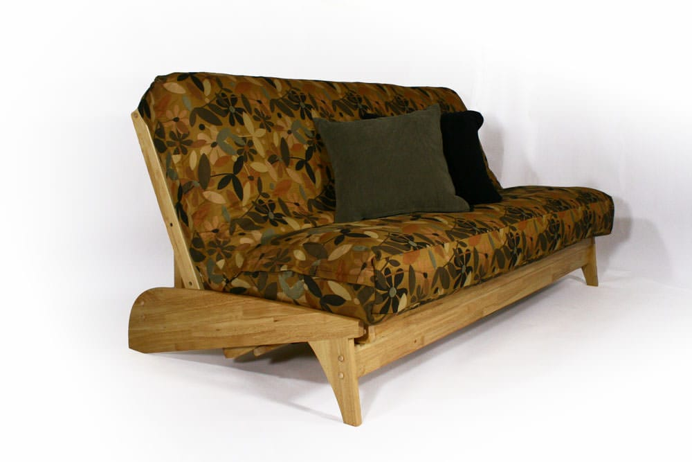 Dillon Natural Queen Wall Hugger Futon Set by Strata Furniture