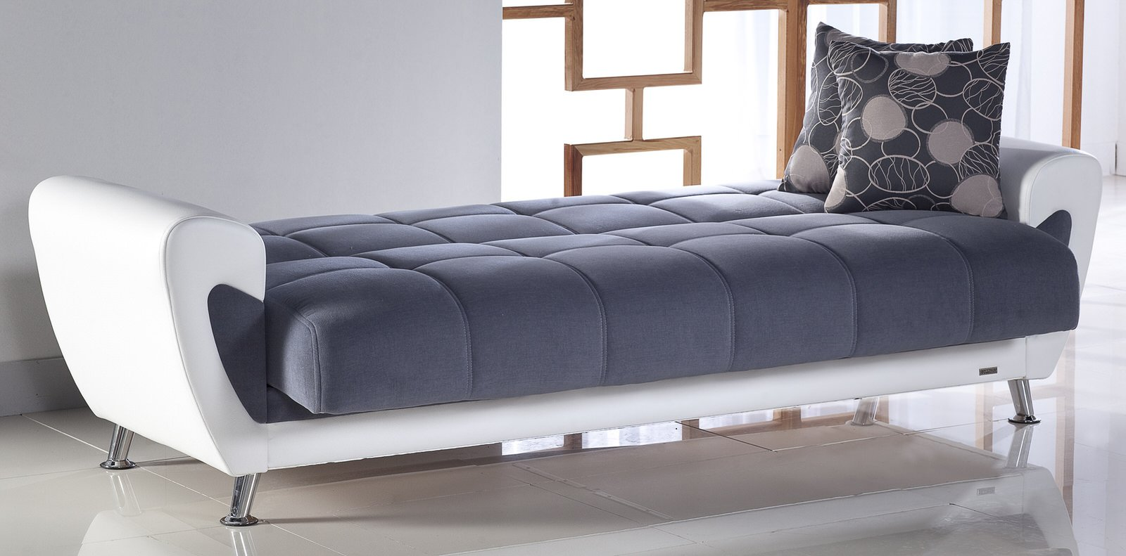 Duru cozy gray convertible sofa bed by sunset Marvelous bedroom designs for small rooms