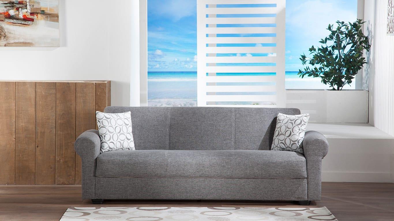 Elita S Go Gray Convertible Sofa Bed
