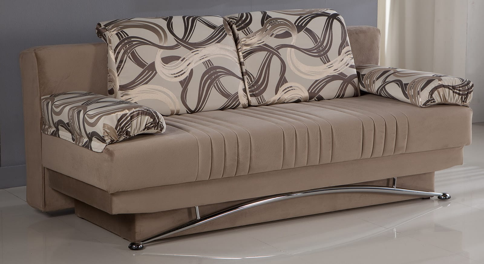 Fantasy Best Vizon Convertible Sofa Bed By Sunset