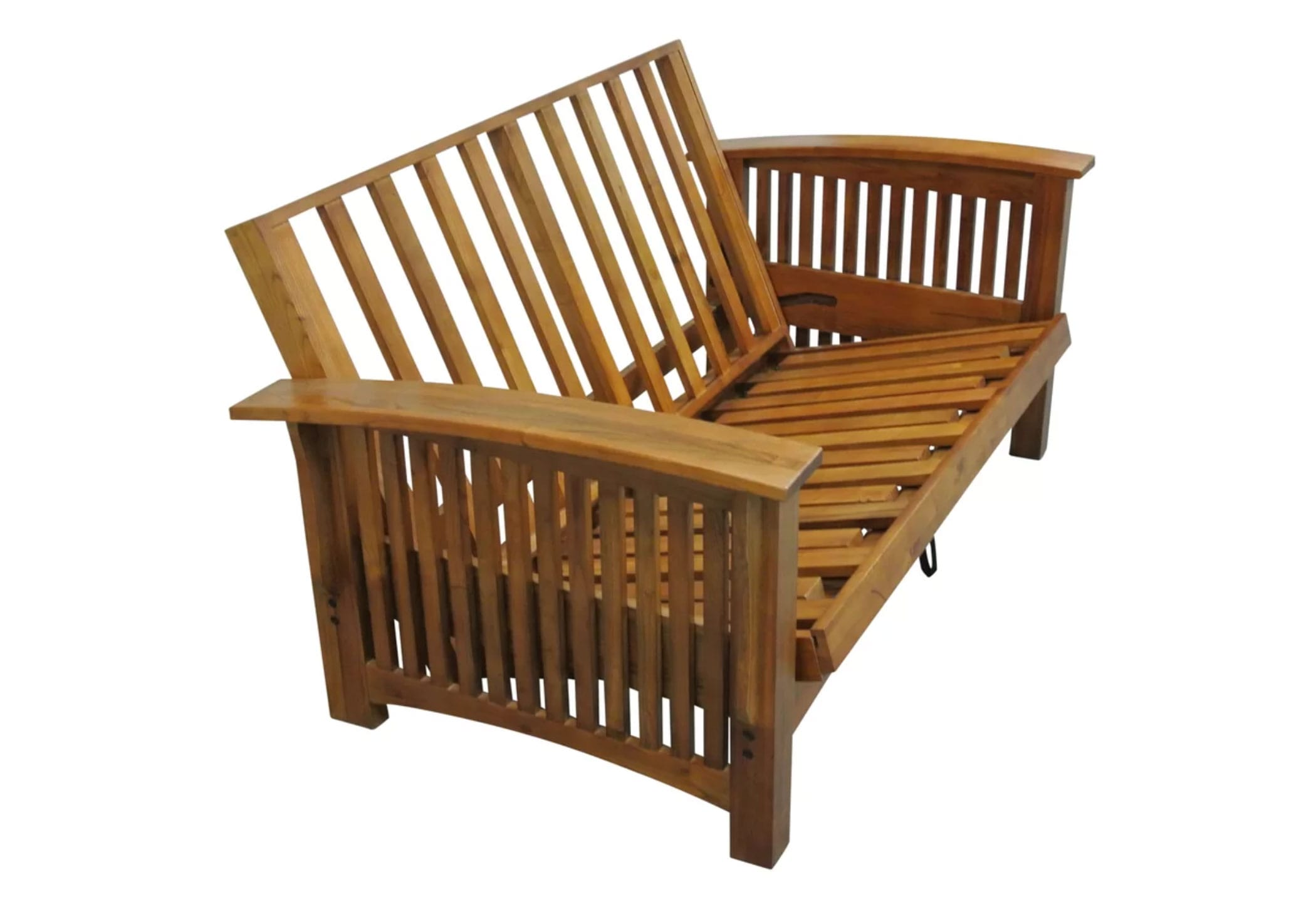 Manhattan Cherry Oak Futon Frame By