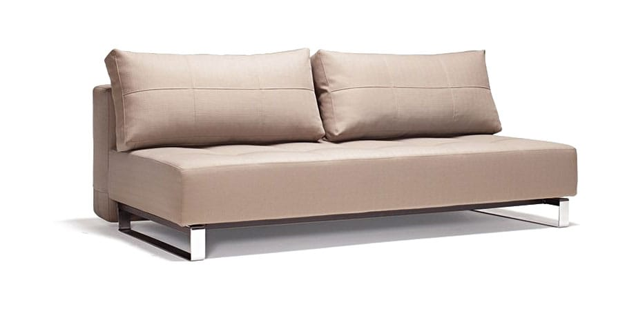 Supremax sleek excess sofa bed queen size natural khaki Queen size sofa bed