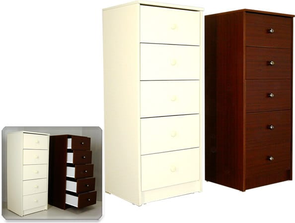 D 5 5 Drawers Lingerie Chest By Vast