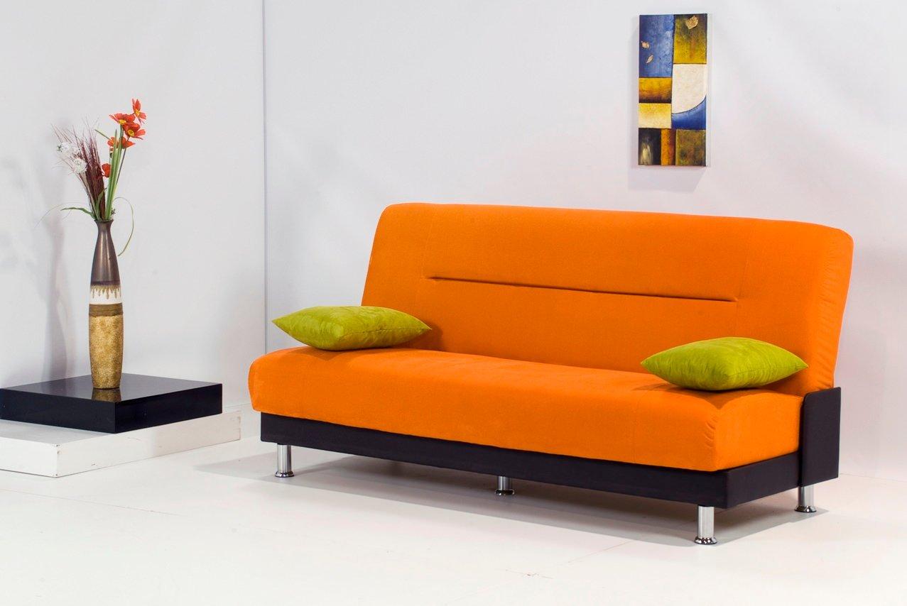 Laura Orange Sofa Bed By Kilim