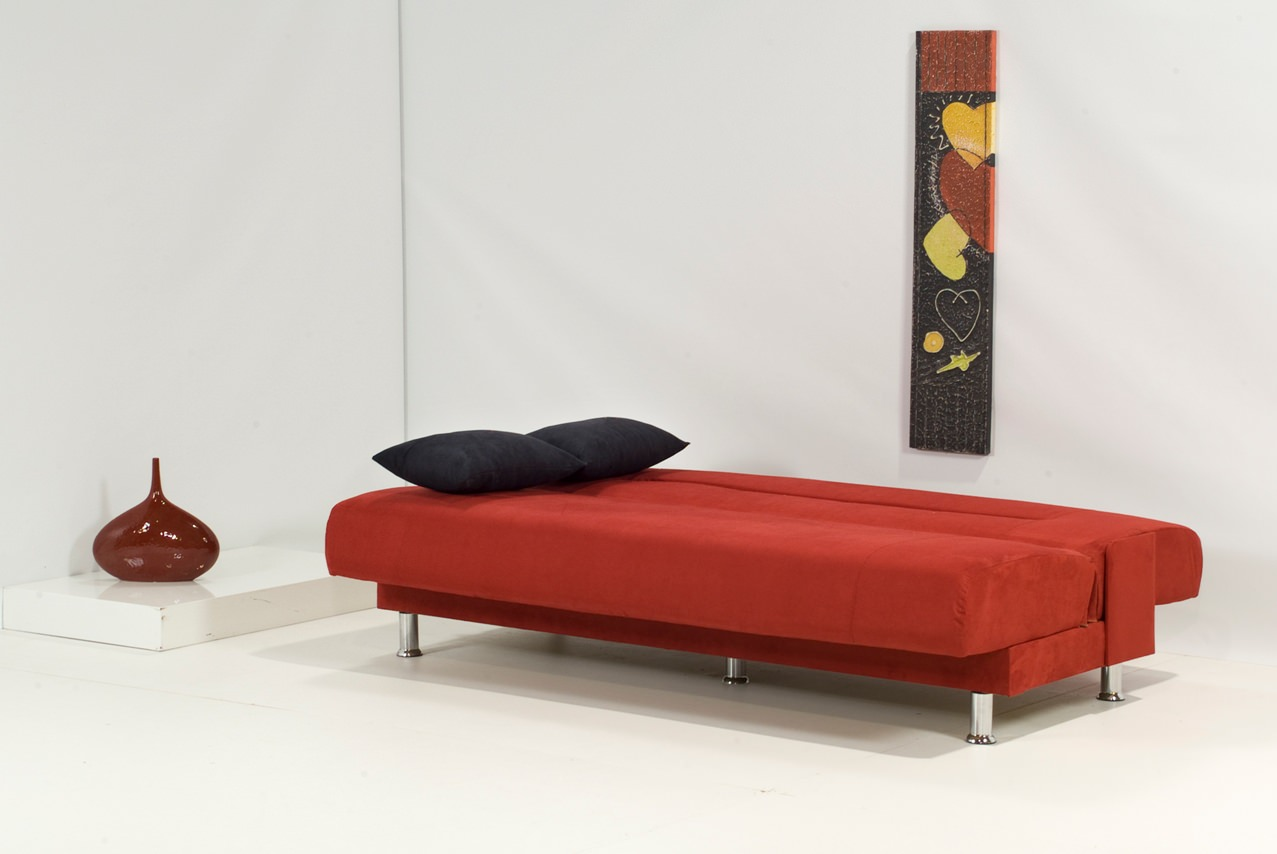 Laura Red Sofa Bed by Kilim