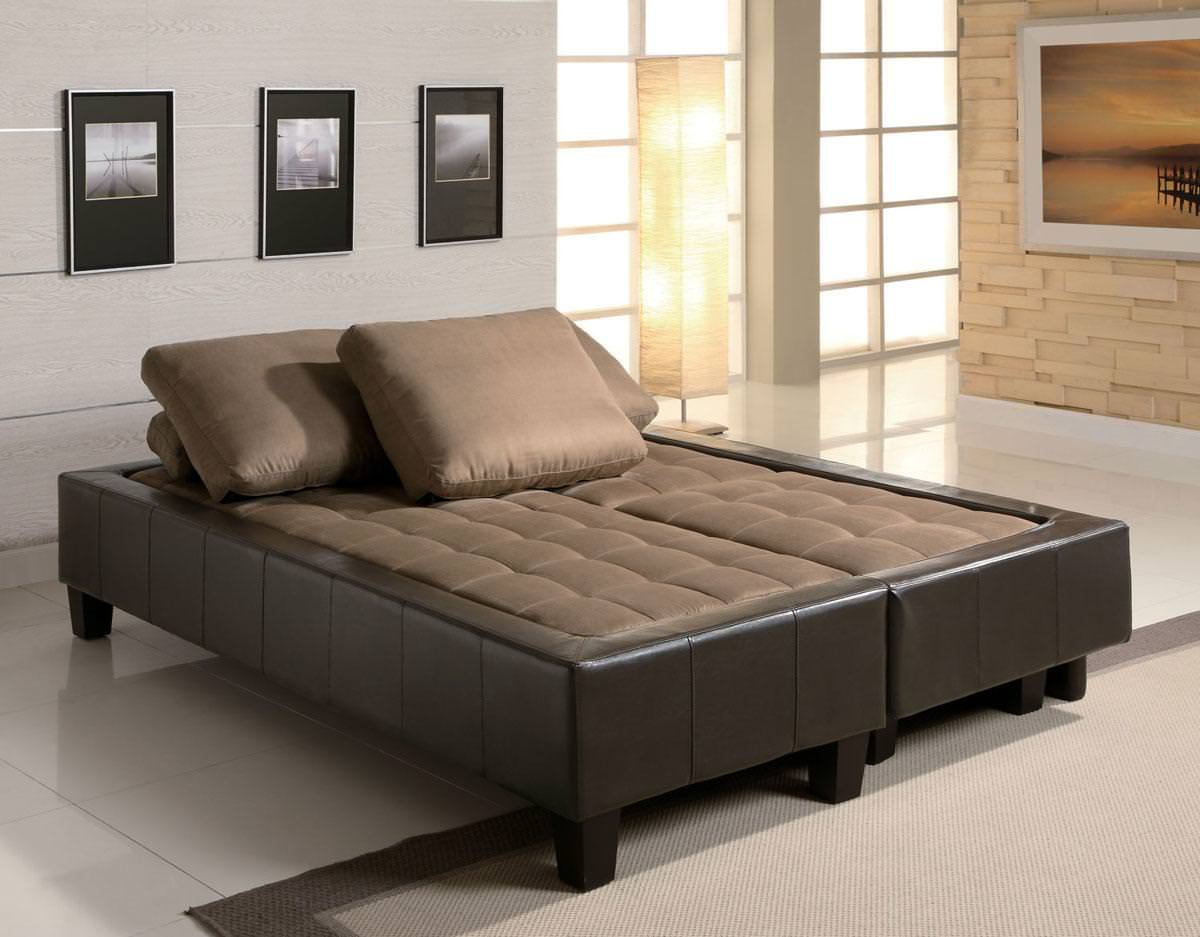 lauren 3 piece sofa bed set in brown by coaster  rh   futonland