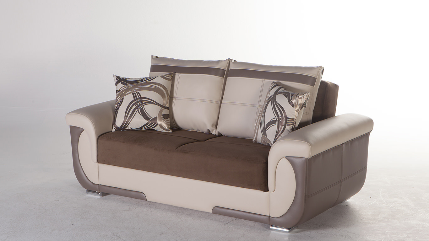 lima s best brown loveseat by istikbal sunset. Black Bedroom Furniture Sets. Home Design Ideas