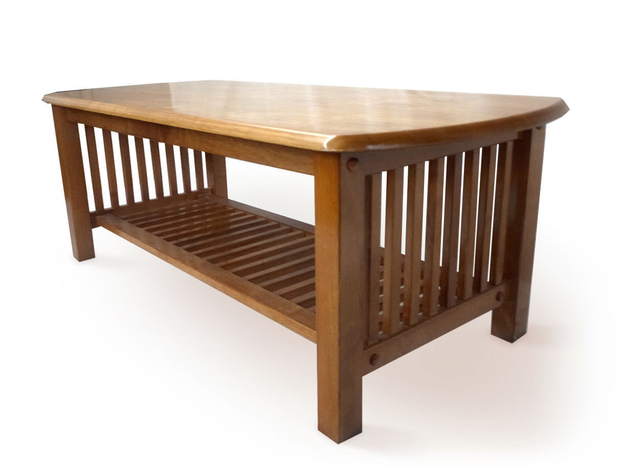 Mission Medium Oak Coffee Table