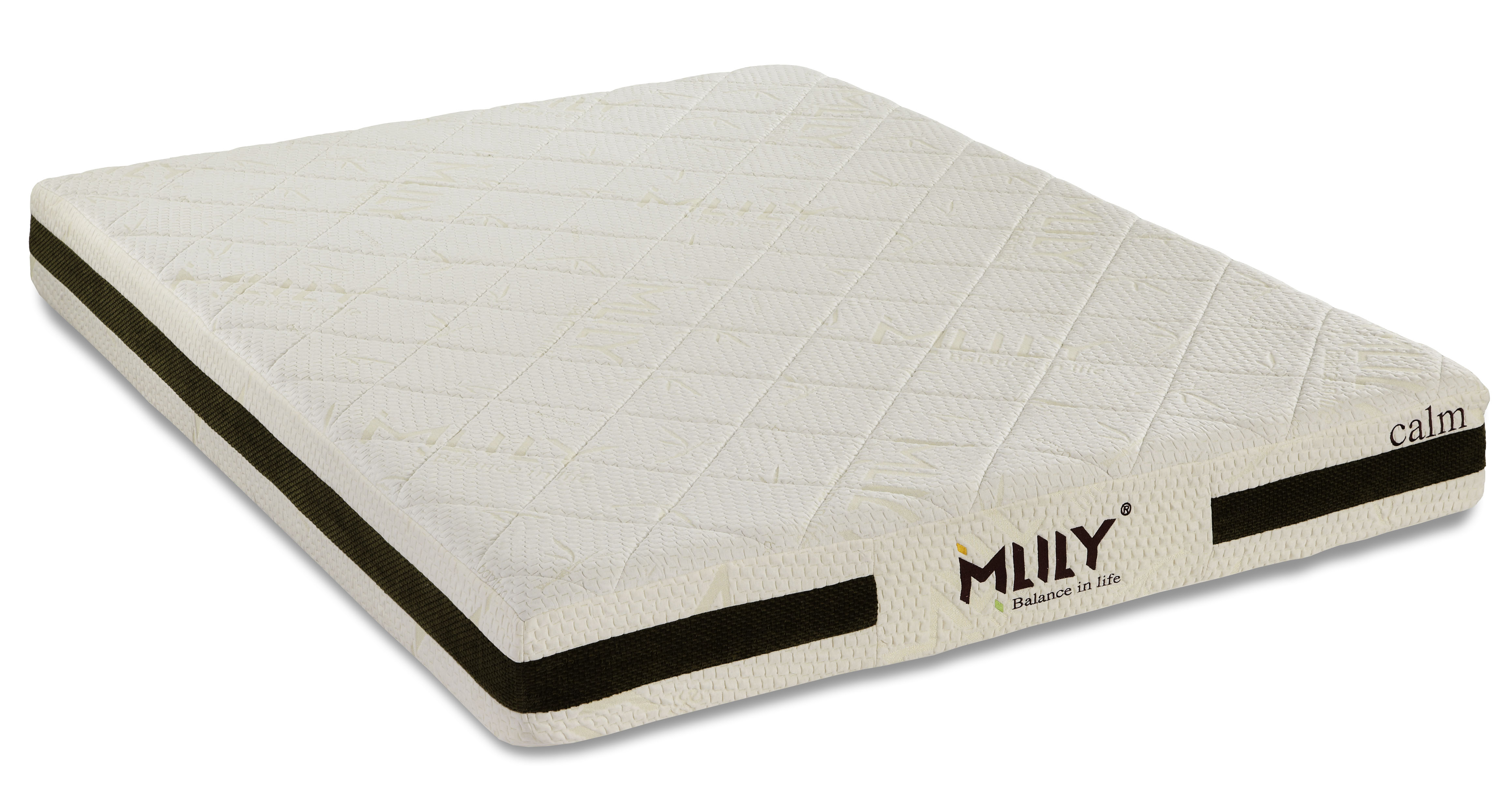 Calm 8 Inch Memory Foam Mattress by Mlily