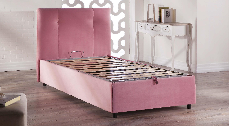 ... lift up · storage ... & Lift Up Storage Bed - White Bed