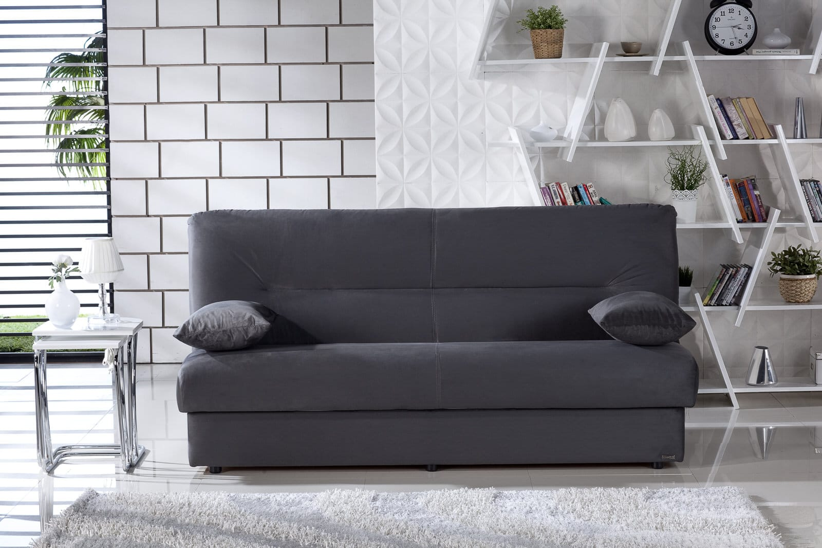 Istikbal Living Room Sets Regata Rainbow Dark Gray Convertible Sofa Bed By Sunset