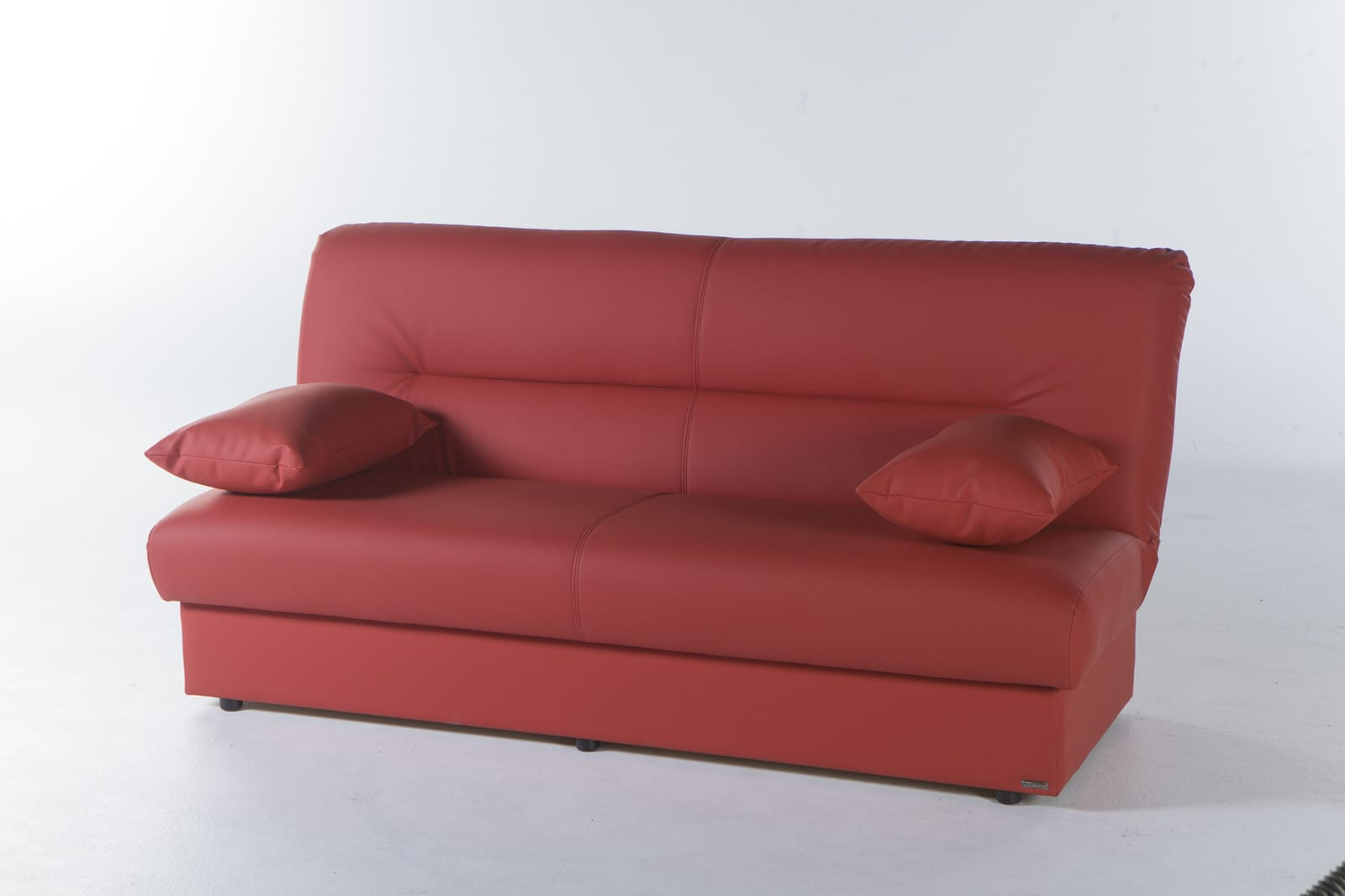 Regata Escudo Red Convertible Sofa Bed by Istikbal Furniture