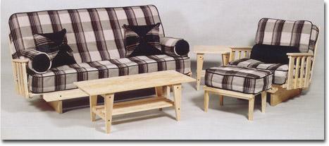 - Super EZ Sofa Queen Size Futon Set By Collegiate Furnishings