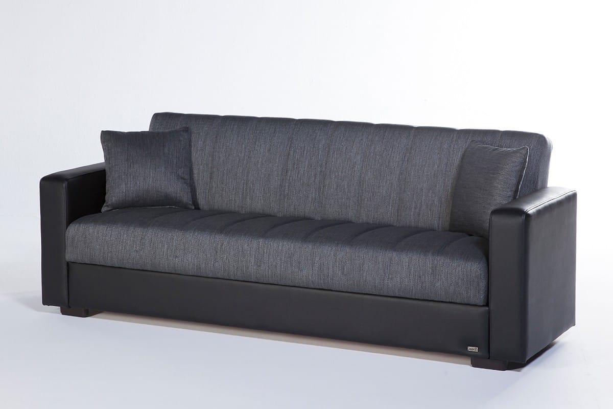 - Sidney Bolzoni Gray Convertible Sofa Bed By Mondi