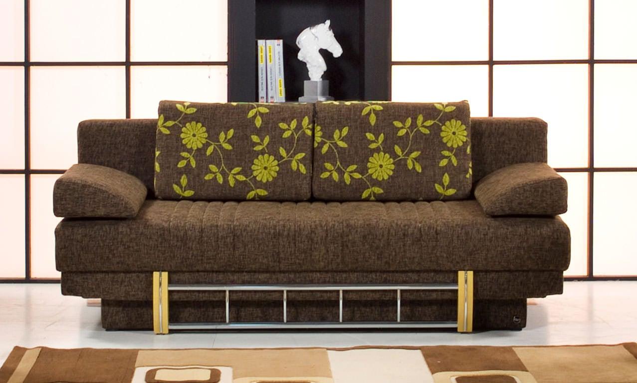 Spring lenda brown sofa bed by kilim for Spring sofa bed