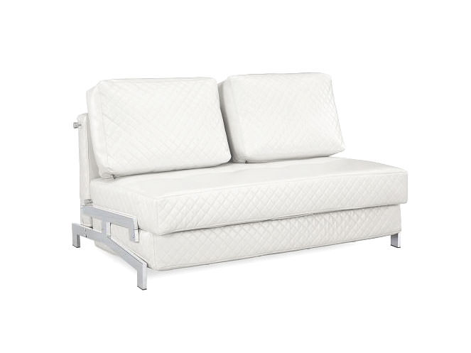 St Martin Marquee Convertible Sofa Bed White By Lifestyle