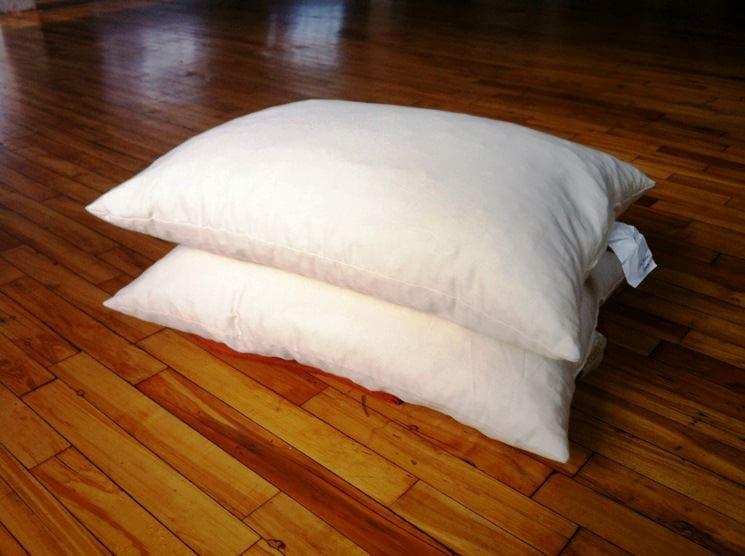 organic case kapok pillow by white lotus