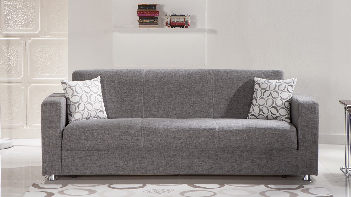 Tokyo diego gray convertible sofa bed by sunset Couches bed